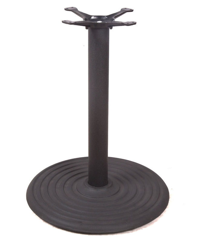 Round Shaped Bistro Table Base 402 Item Shape Customized For Coffee Shop