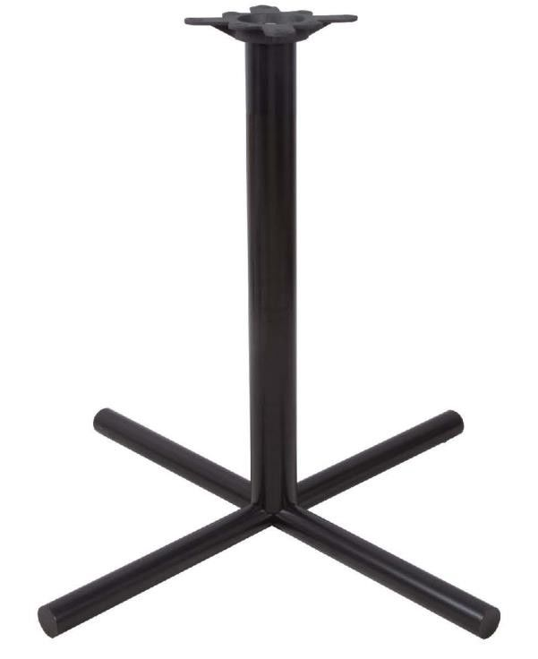 Furniture Cross Table Base Restaurant Bar Table Bases With 710mm Height